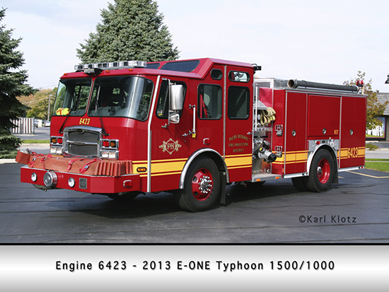 E-ONE fire engine