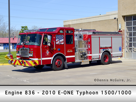 Riverdale Fire Department Engine 836