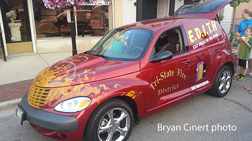 fire department PT Cruiser