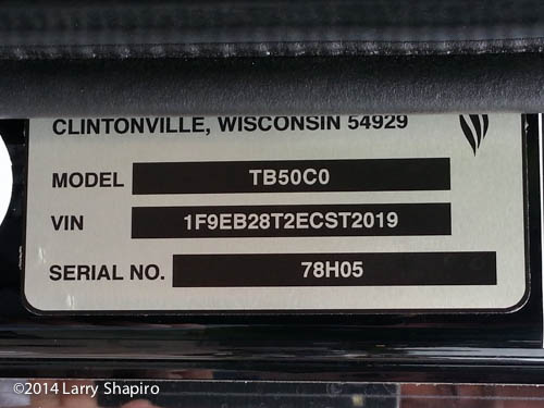 Seagrave production tag