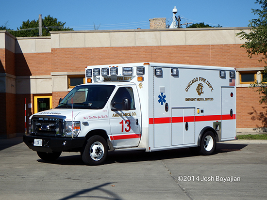 Chicago Wheeled Coach ambulance