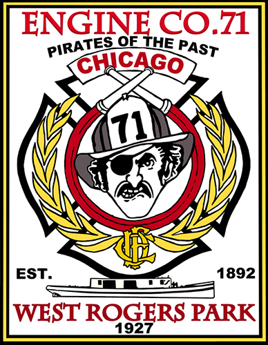 fire company decal