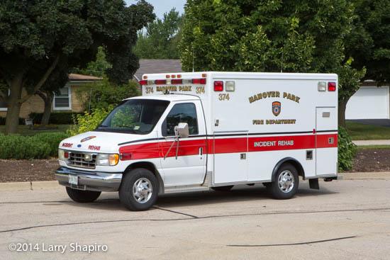 ambulance used for rehab unit