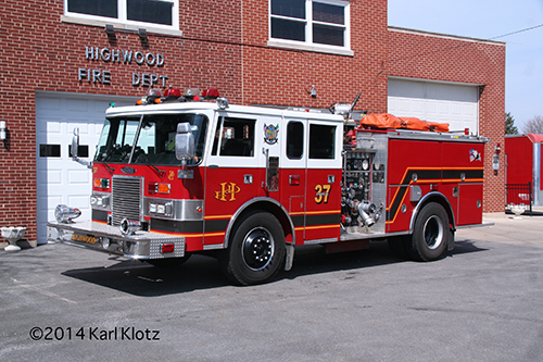 Highwood Fire Department Engine 37