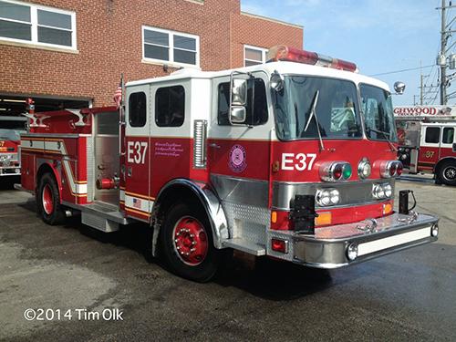 Pemfab E-ONE fire engine
