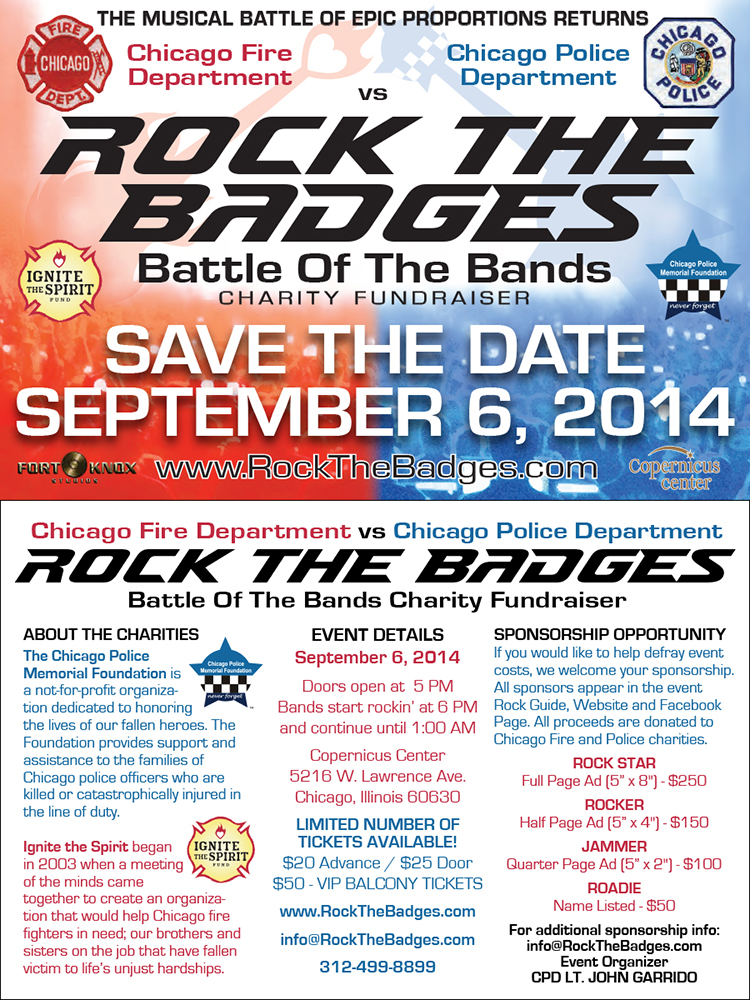 Rock the Badges battle of the bands