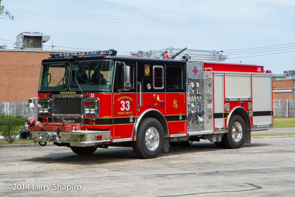 Seagrave Marauder II fire engine