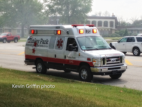new Tinley Park ambulance