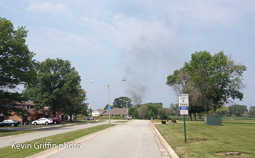 header from car fire