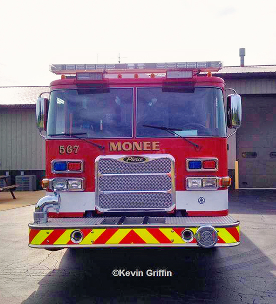 Monee fire engine