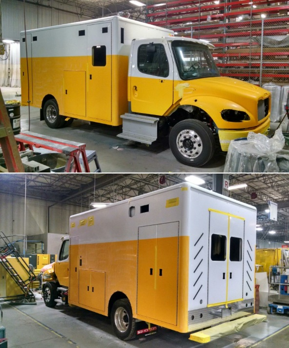New ambulance being built for Clarendon Hills.