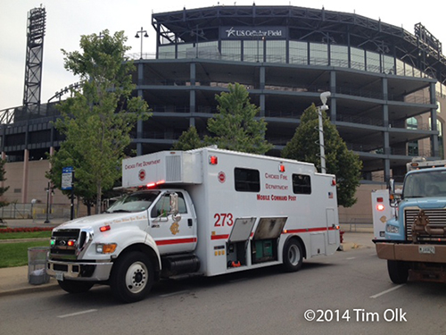 Chicago Fire Department mobile command post
