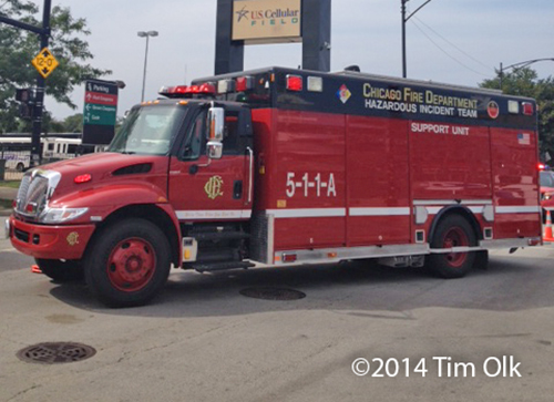 Chicago Fire Department Hazardous Incident Team unit