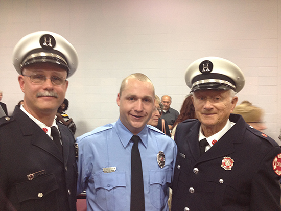 3 generations fo firefighters