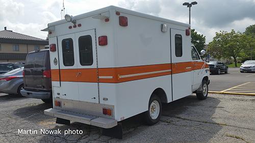 Former Navy ambulance