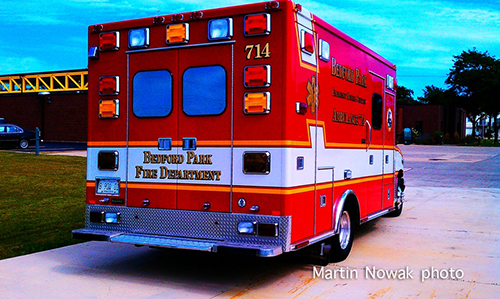 Bedford Park FD ambulance