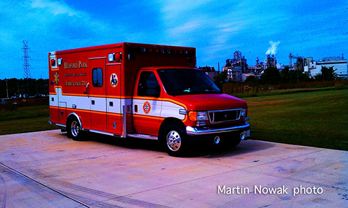 Bedford Park FD ambulance
