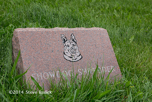 fire department dog memorial