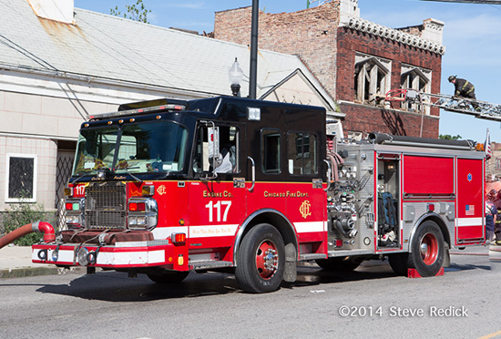 Chicago fire engine