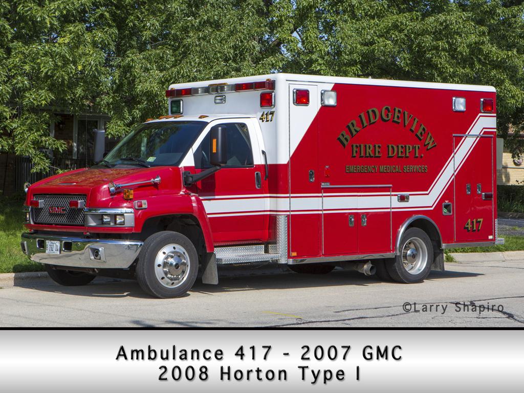 Horton ambulance on GMC chassis