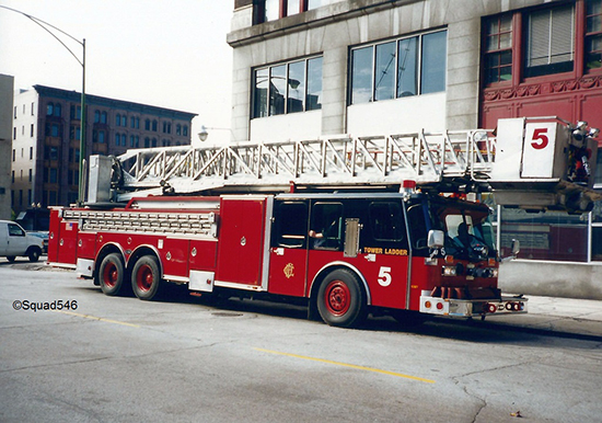 Chicago fire truck