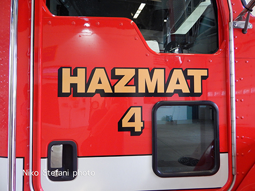 fire department haz mat unit