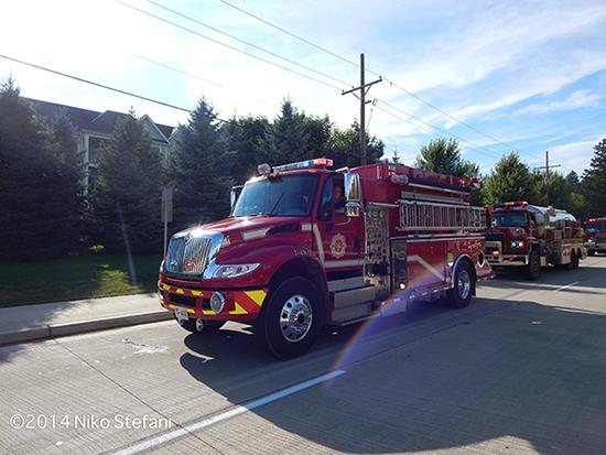 fire department water tender