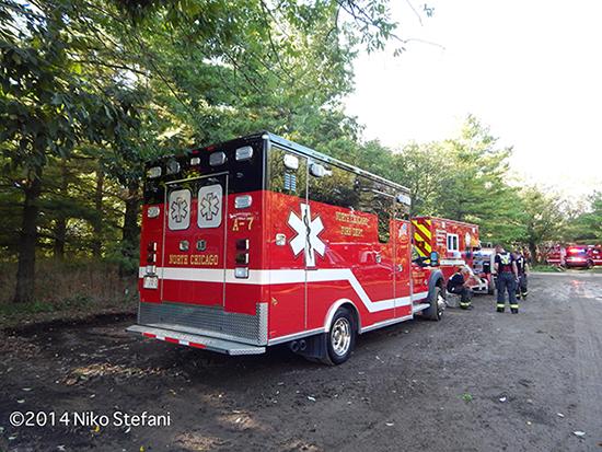 fire department Type I ambulance