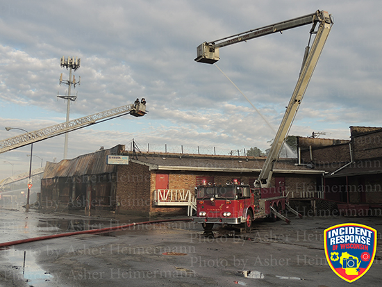 Chicago fire scene with Snorkel