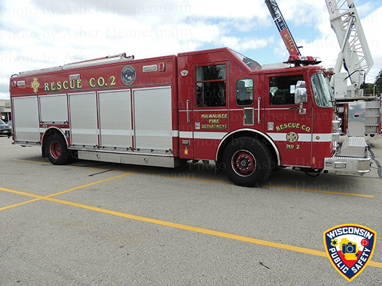 Milwaukee fire truck photo