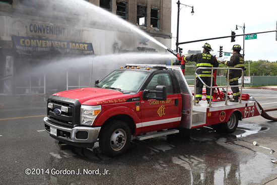 Chicago FD Turret Wagon 676