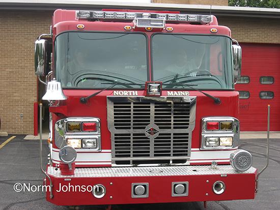 Spartan ERV fire engine