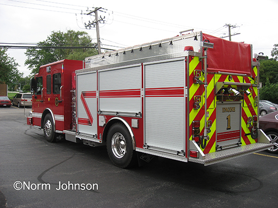 Spartan ERV fire engine