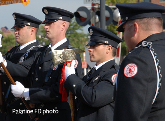 Palatine fire department honor guard