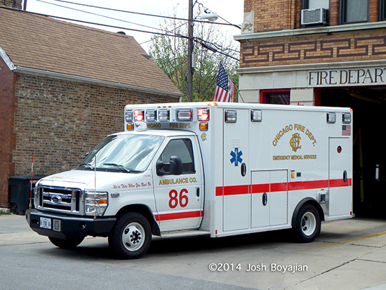 Chicago FD Ambulance 86