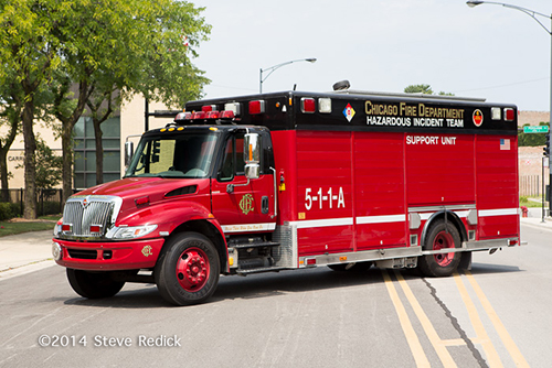 fire department support unit
