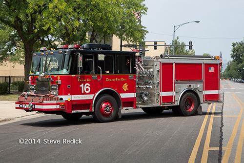 Chicago FD fire engine