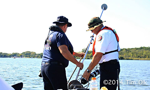 fire department sonar team