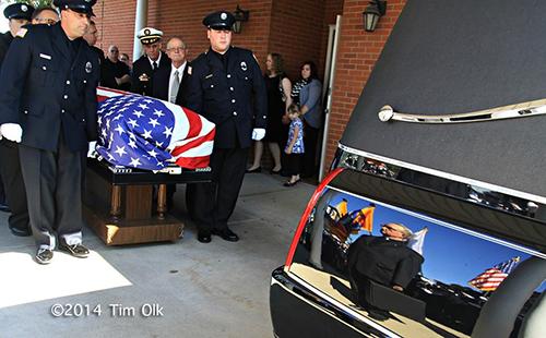 fire department funeral