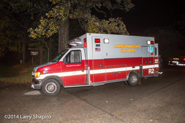 ambulance photo at night