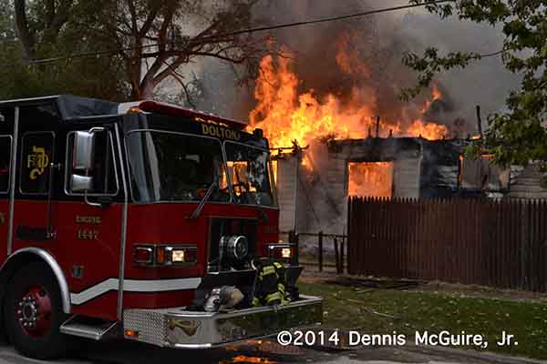 house fully-engulfed in fire