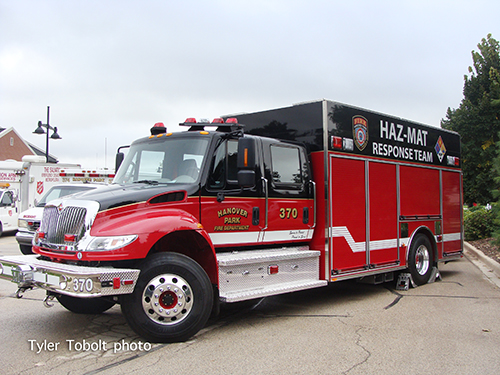 fire department haz mat truck