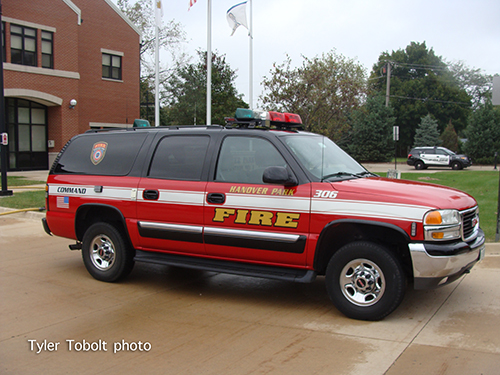 fire department chevy suburban