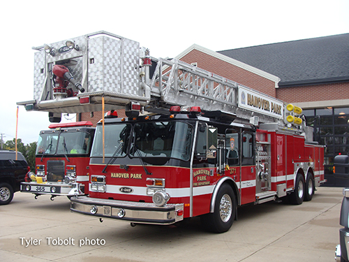 Hanover Park FD E-ONE tower ladder