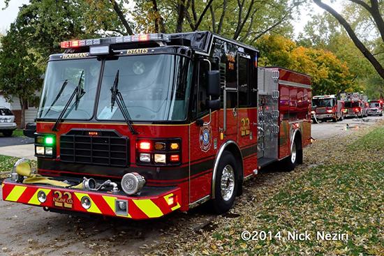 Ferrara fire engine