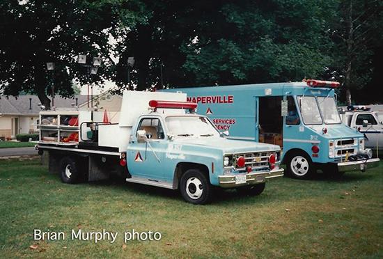Naperville EMA truck