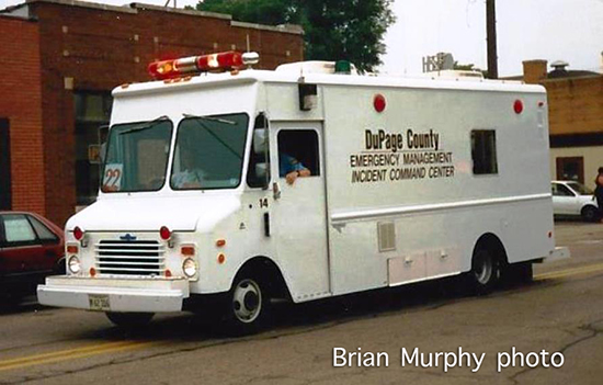 DuPage County EMA truck