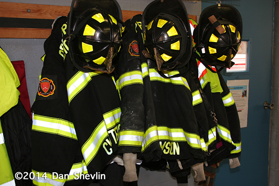 firefighter turnout coats