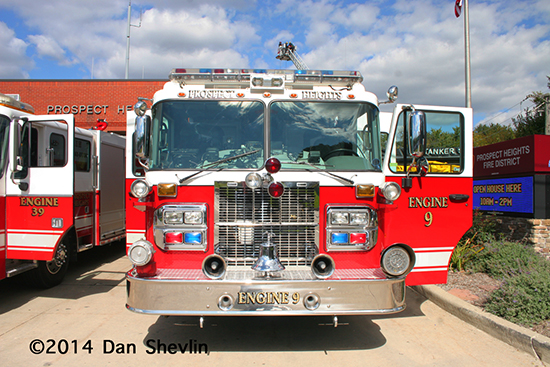 Spartan fire engine