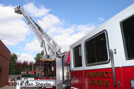 fire truck at open house